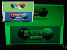 Green Glow in the dark Phosphorescent A4 inkjet printer photo vinyl paper sheet