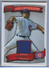2010 Topps Ted Lilly Peak Performance Game-Used Jersey Relic Cubs PPR-TL