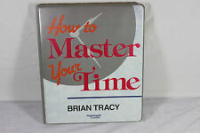 How to Master Your Time 6-Cassette Home Study Course ~ Brian Tracy