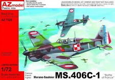 """AZ Models 1/72 MORANE-SAULNIER MS.406C-1 """"Battaglia di Francia"""" # 7528"""
