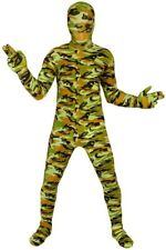 Morphsuits Kids Camo Commando Skin Suit Halloween Pretend Costume Child Small