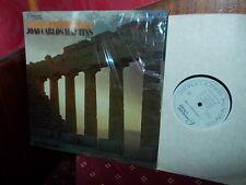 BACH: Partitas n°1 & 2   Martins piano / Connoisseur Society USA stereo LP VG++