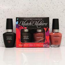 CUCCIO Veneer Match Makers - BOSTON CREAM PIE 6034 Gel & Nail Lacquer Duo Kit