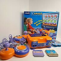Vtech V.Smile TV Learning System Game Console 2 Joysticks 2 Games Thomas & Frien