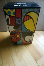 "Disney Britto Tinker Bell Sitting On Flower Large 8.5"" Tall Figurine 2012 NEW"