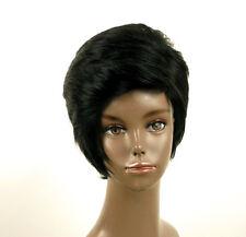 perruque afro femme 100% cheveux naturel courte noir ref LAET 05/1b