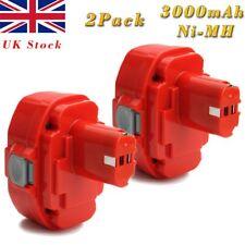 2x 18V 3.0AH Ni-MH Battery For Makita 1822 1823 1833 1834 1835 1835F PA18 4334D