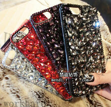 Fashion Bling Crystal Diamond Rhinestone Hard Clear Case Cover &Skin For Phones
