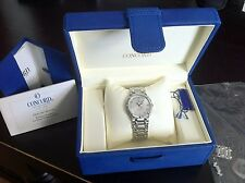 CONCORD Saratoga, Quartz, Date, Stainless, Box, AWESOME CONDITION 31mm