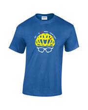 Geraint Thomas 'G' TdF 2018 Winners Helmet & Shades Mens Cycling T-Shirt