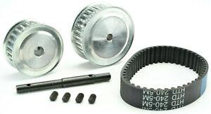 B&M Racing Traxxas X-Maxx 25 Pinion 30 Spur Belt Drive Gear Set 730-850kv Motor