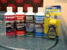 Starter testing Kit Chlorine Paddling Pools Chemicals Aqua 4s Hot Tub Lazy Spa