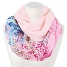 Loop Schal Schlauchschal Damen Sommer dünn Blumen Infinity Scarf XXL Autiga®