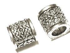 Handmade Celtic Design Branch Beard Bead. Viking, Norse, Odin,