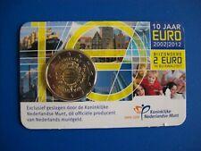 Nederland 2 euro CC 2012 10 jaar euro BU in coincard