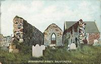 Rare Vintage Postcard Bonamrgy Abbey, Ballycastle Co. Antrim, N.Ireland Unposted