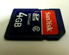 SanDisk SD 4GB SD HC Memory Card - CSDKSDHC4GB1 - for camera