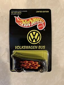 hot wheels volkswagen Bus Limited Edition 18665
