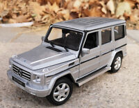 WELLY 1:24 SUV Alloy Car Model Boys Toys For Mercedes Benz G-Class G500 G55
