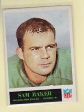 1965 PHILADELPHIA FOOTBALL SAM BAKER #128 EAGLES EX+ *62454