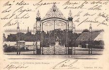 ANGERS 62 la grille du jardin botanique timbre rouge 10 cent. 1902