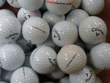 "24 CALLAWAY CHROME SOFT GOLF BALLS  ""GRADE A"" LAKE BALLS  FREE DELIVERY"