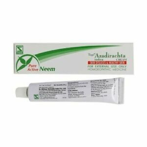 Dr Willmar Schwabe Topi Azadirachta Cream reducing itching,pain due to burns,cut