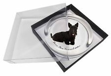Scottie Dog 'Love You Grandma' Glass Paperweight in Gift Box Christ, AD-ST2lygPW