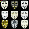 Halloween Masks V Vendetta Mask Anonymous Guy Fawkes Fancy Adult Costume Cosplay