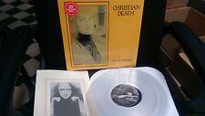 CHRISTIAN DEATH - DEATHWISH LP Clear Vinyl ( Rozz Williams Rikk Agnew )
