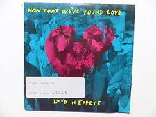LOVE IN EFFECT Now that we've found love 14864 JAZZIE B SOUL II SOUL WEE PAPA