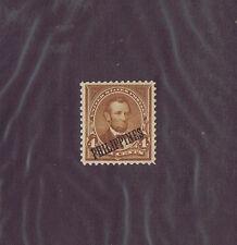 Sc# Phillipines 220 Unused Og Nh 4 Cent Lincoln, Overprint, 1901, Vf-Xf.