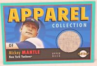 2004 MICKEY MANTLE UPPER DECK APPAREL COLLECTION GAME USED PANTS HOF NY YANKEES