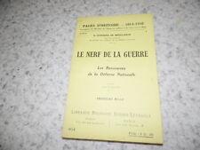 1917.Pages d'histoire 101.Le nerf de la guerre.14-18.Cerfberr de Medelsheim