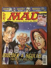 Lot Of 5 German MAD Magazines 4-8 1999