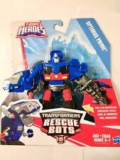 ~ OPTIMUS PRIME T-REX ~ Playskool Heroes Transformers Rescue Bots Optimus Prime