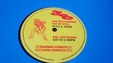 "TAYO MEETS BAOBINGA Style & Trend /Choppa Riddim 12"" SOUL JAZZ reggae dancehall"