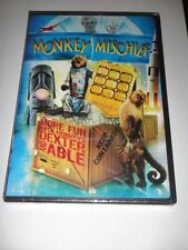 Monkey Mischief More Fun With Dexter & Able (DVD,2009) **SEALED**