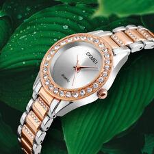 SKMEI Women's Fashion Dress Watches Casual Quartz Watch Girls Ladies Wristwatch_