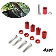For Car Engine Turbo Engine Swap Set of 1'' 8mm Billet Hood Vent Spacer Riser