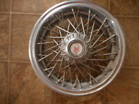 1980's Chevrolet Chevy Monte Carlo Spoke Vintage Hubcap AS IS dented used