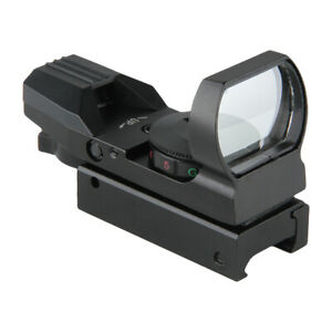 Dot Sight Scope HD101 Reflex Holographic Tactical Rifle Mount 22mm Shockproof