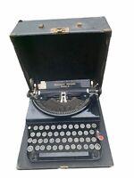 1933 Remington Portable  Model 5 typewriter original case