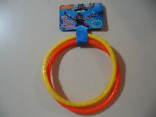 2 pack Dive diving Rings (Yellow and Orange), Brand New Sealed for ages 3+