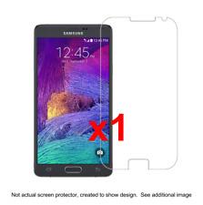 1x Samsung Note 4 Anti-Scratch Screen Protector w/ cloth