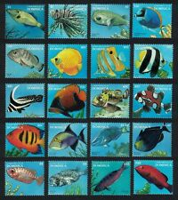 Dominica Fish 20v Definitives 1996 MNH SG#2173-92 MI#2201-2220