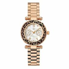 GUESS Collection Women's 34mm Gold Plated Bracelet Quartz Watch X35015l4s
