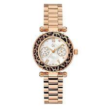 Nuevo X35015L4S Oro Rosa Señoras GUESS GC Diver Reloj Chic - 2 Años De Garantía