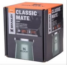 STANLEY Double Wall Stainless Steel Yerba Mate Gourd 8 oz