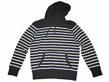 Polo Ralph Lauren Black White St Barth Terry Cloth Pullover Hoodie Jacket M